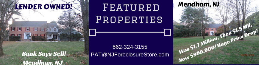 Nj Foreclosure Store