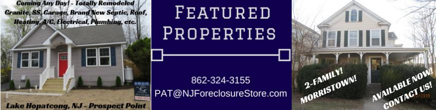 Sheriff Sale | NJ Foreclosure Store
